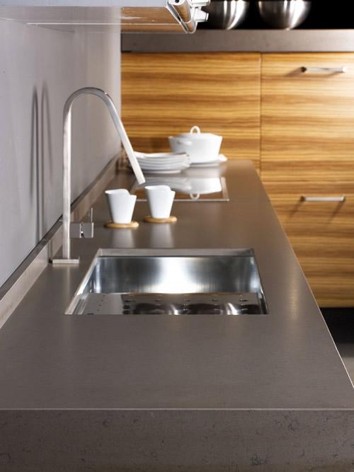 Tipos de encimeras de cocina modelos colores silestone - Encimeras de cocina silestone ...